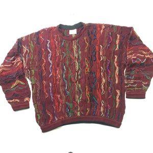 Coogi Sweater Australia 3D 90s Biggie McGregor